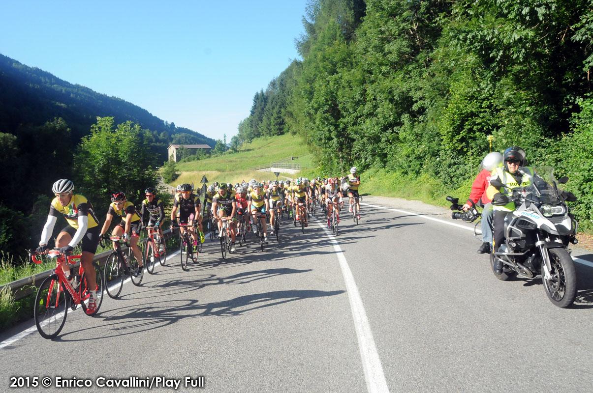 Le telecamere di Bike Channel durante La Campionissimo
